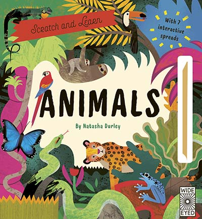 Scratch and Learn Animals - Jacket