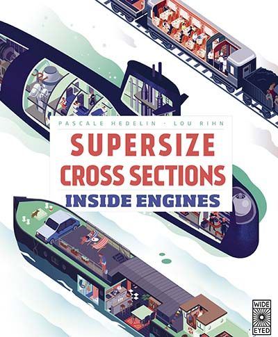 Supersize Cross Sections: Inside Engines - Jacket