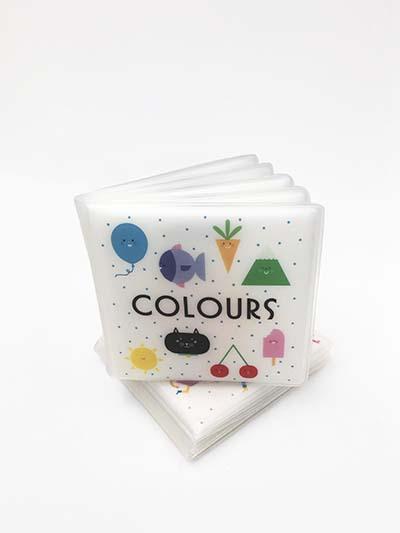 First Concept Bath Book: Colours - Jacket