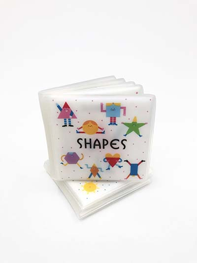 First Concept Bath Book: Shapes - Jacket