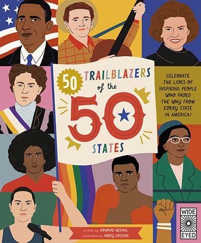 50 Trailblazers of the 50 States - Jacket