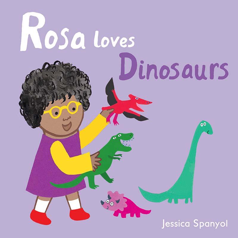 Rosa Loves Dinosaurs - Jacket