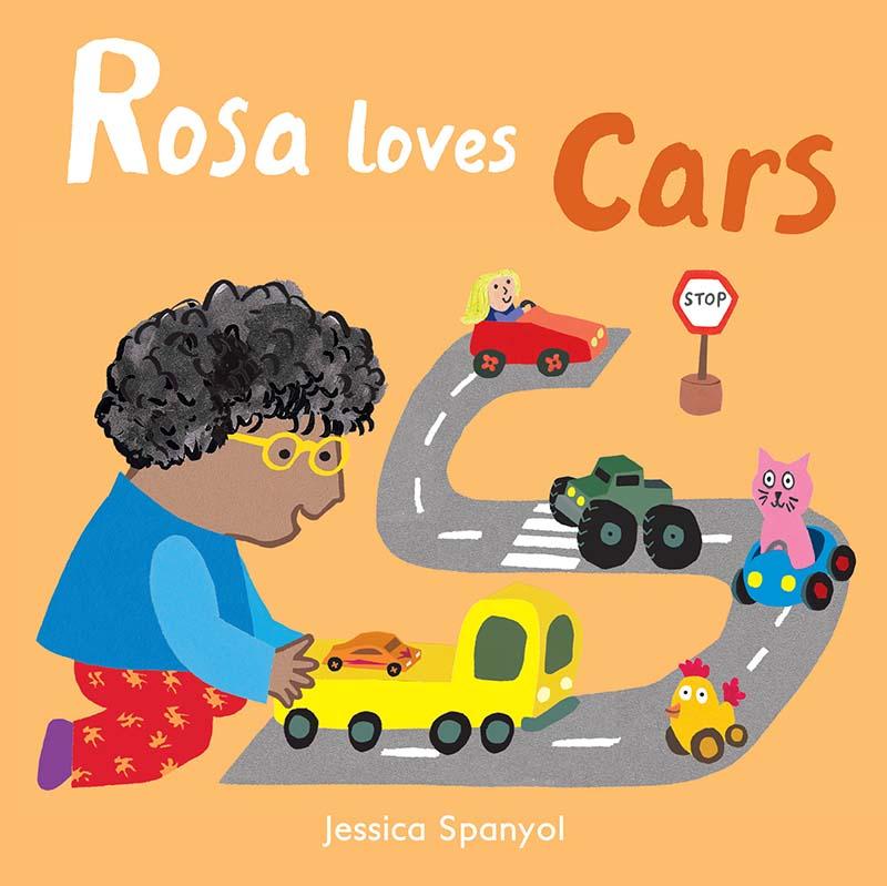 Rosa Loves Cars - Jacket