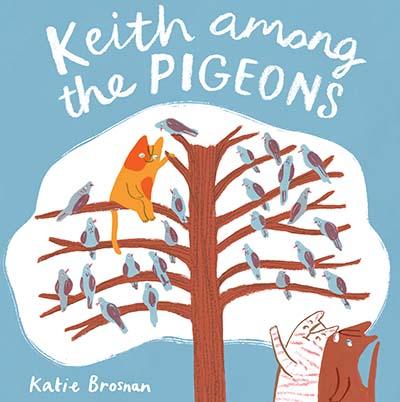Keith Among the Pigeons - Jacket