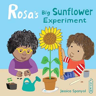 Rosa's Big Sunflower Experiment - Jacket