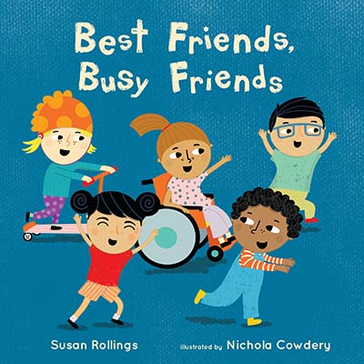 Best Friends, Busy Friends - Jacket