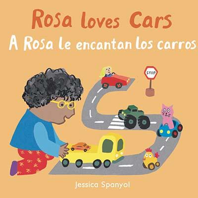 A Rosa le encantan los carros/Rosa loves Cars - Jacket