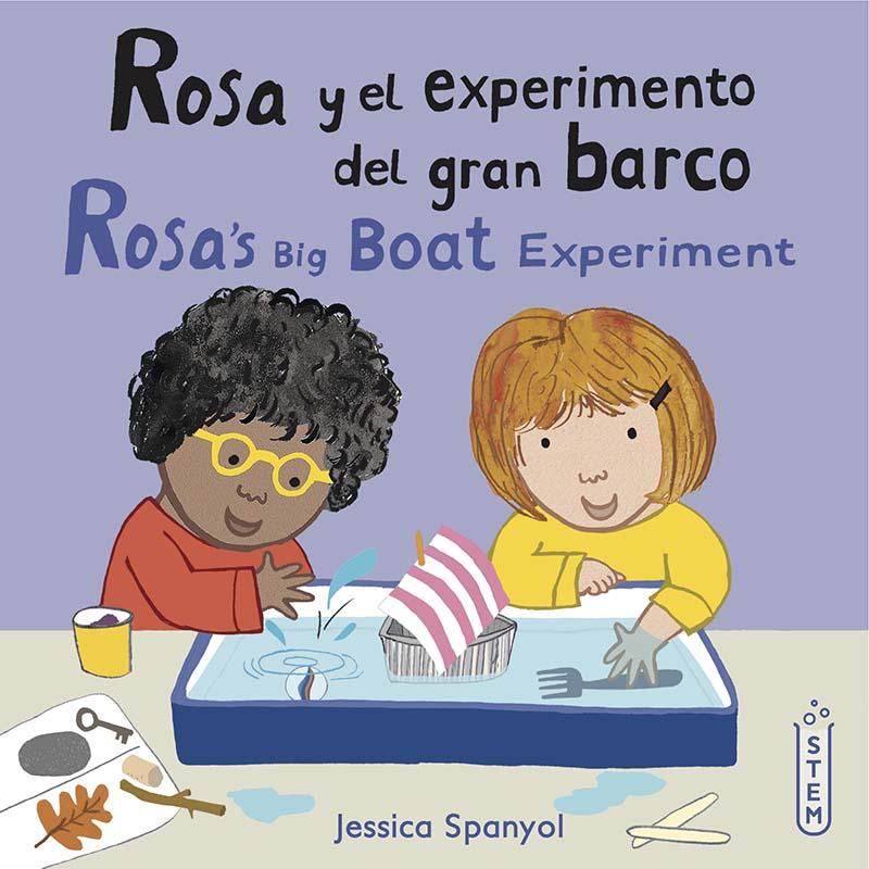 Rosa y el experimento del gran barco/Rosa's Big Boat Experiment - Jacket