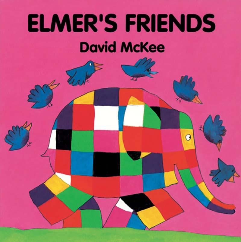 Elmer's Friends - Jacket