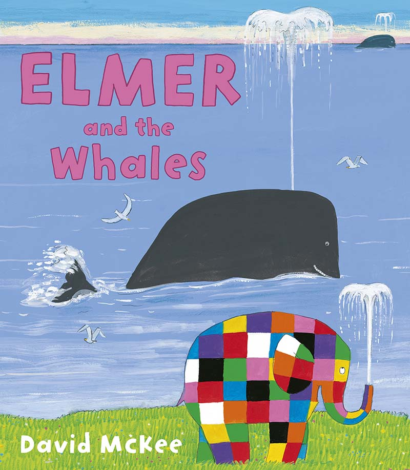 Elmer and the Whales - Jacket