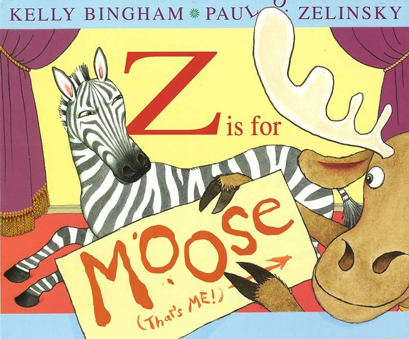 Z is for Moose - Jacket