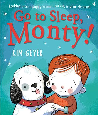 Go to Sleep, Monty! - Jacket