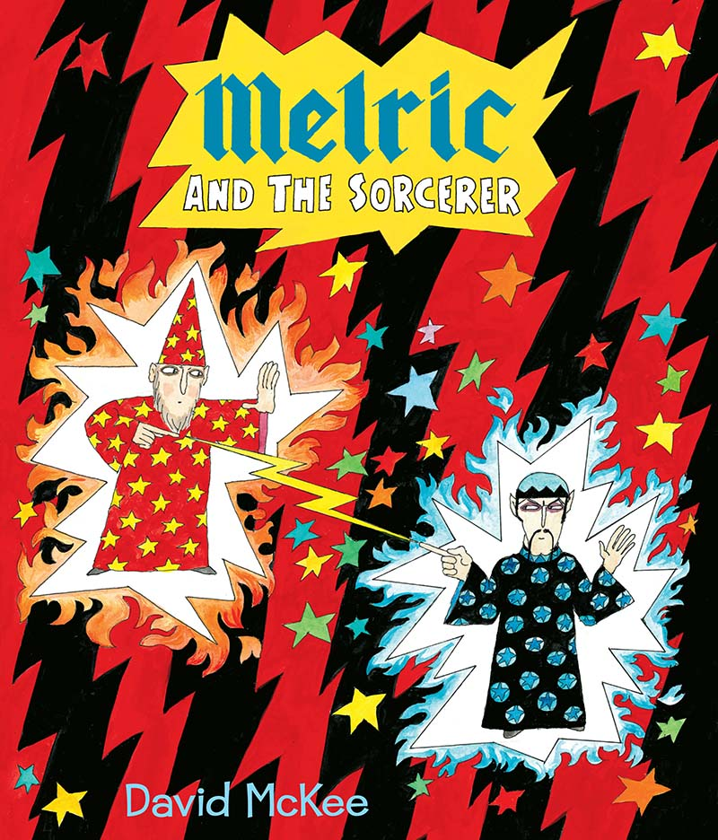 Melric and the Sorcerer - Jacket