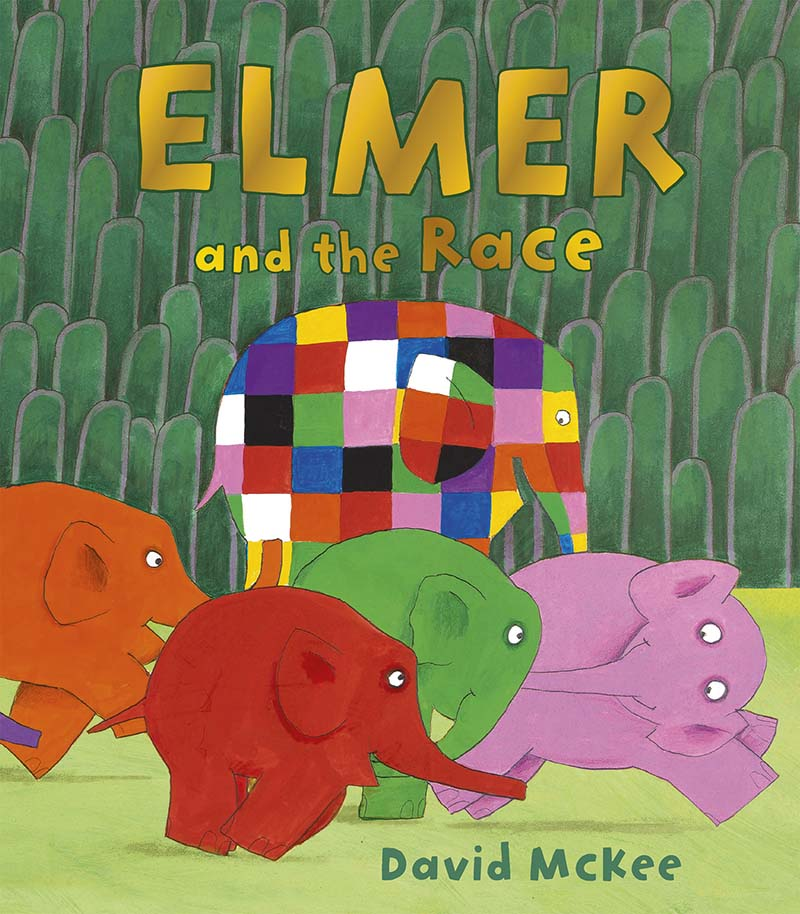 Elmer and the Race - Jacket