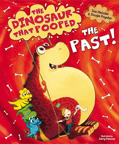 The Dinosaur That Pooped The Past! - Jacket