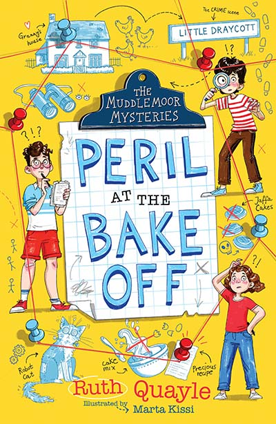 The Muddlemoor Mysteries: Peril at the Bake Off - Jacket