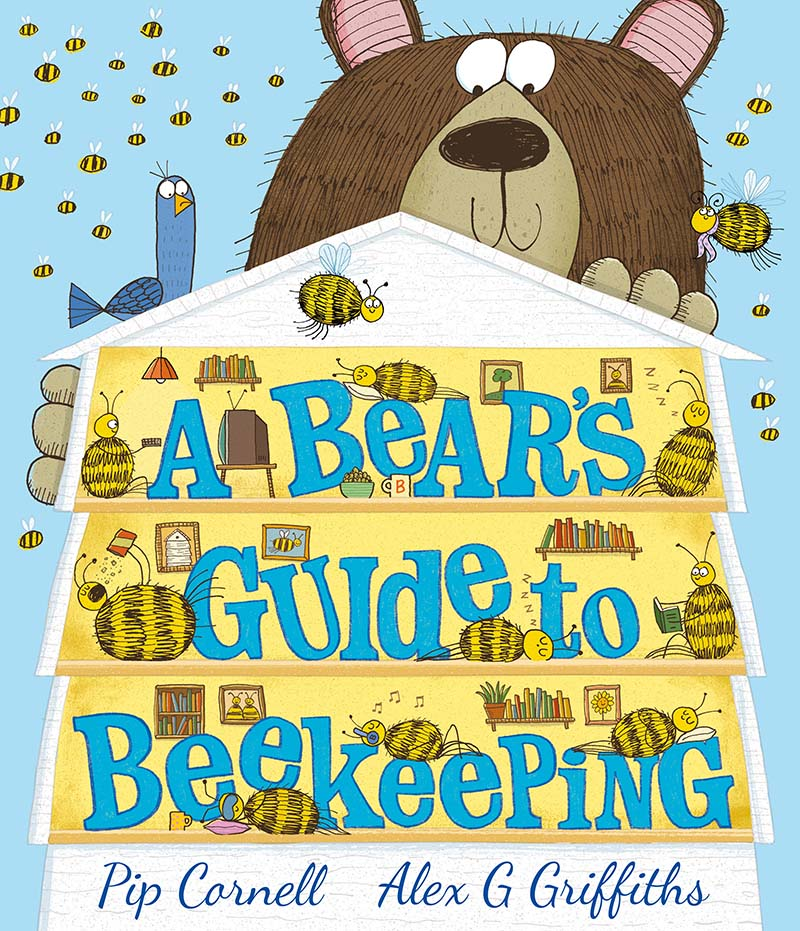 A Bear's Guide to Beekeeping - Jacket