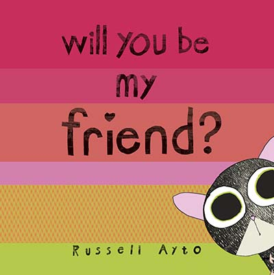 Will You Be My Friend? - Jacket