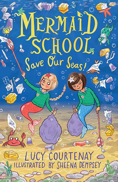 Mermaid School: Save Our Seas! - Jacket