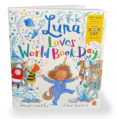 Luna Loves World Book Day - Jacket