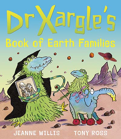 Dr Xargle's Book of Earth Families - Jacket