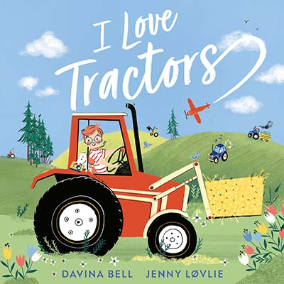 I Love Tractors! - Jacket