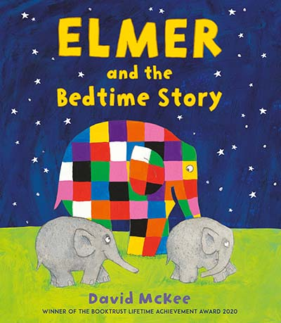 Elmer and the Bedtime Story - Jacket