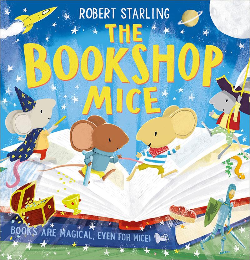 The Bookshop Mice - Jacket