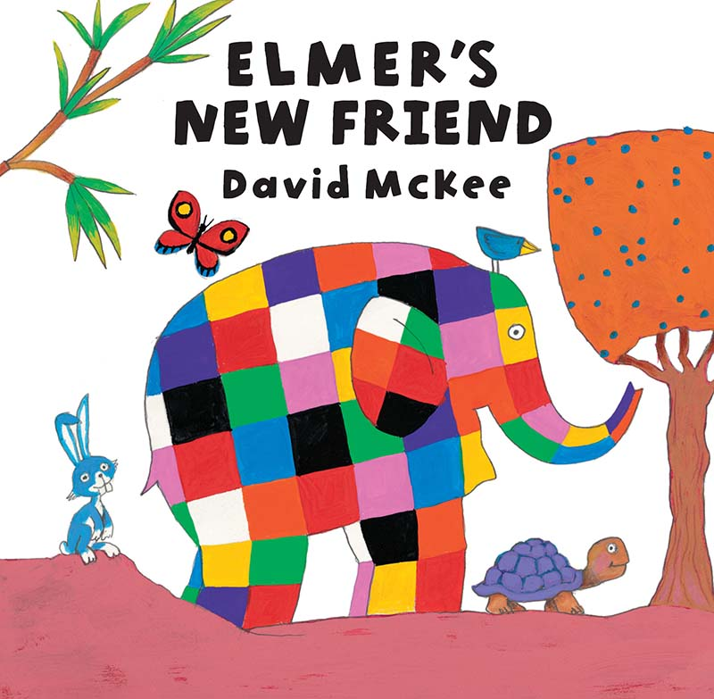Elmer's New Friend - Jacket