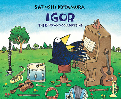 Igor, The Bird Who Couldn't Sing - Jacket