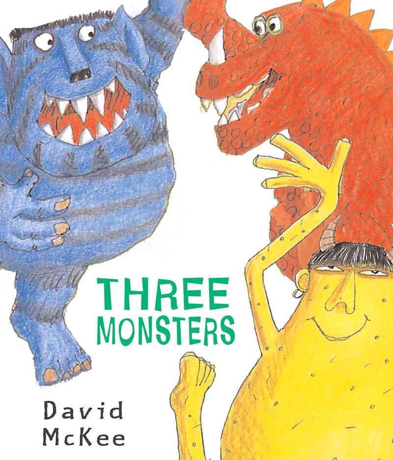 Three Monsters - Jacket