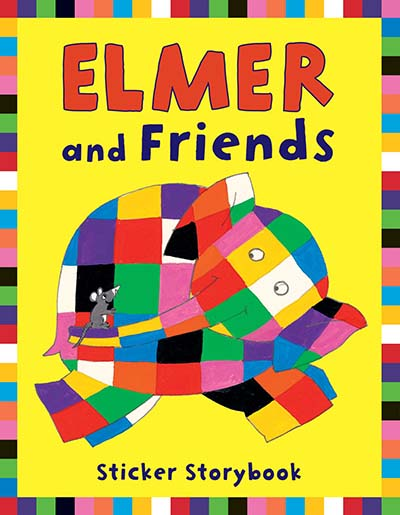Elmer and Friends Sticker Storybook - Jacket