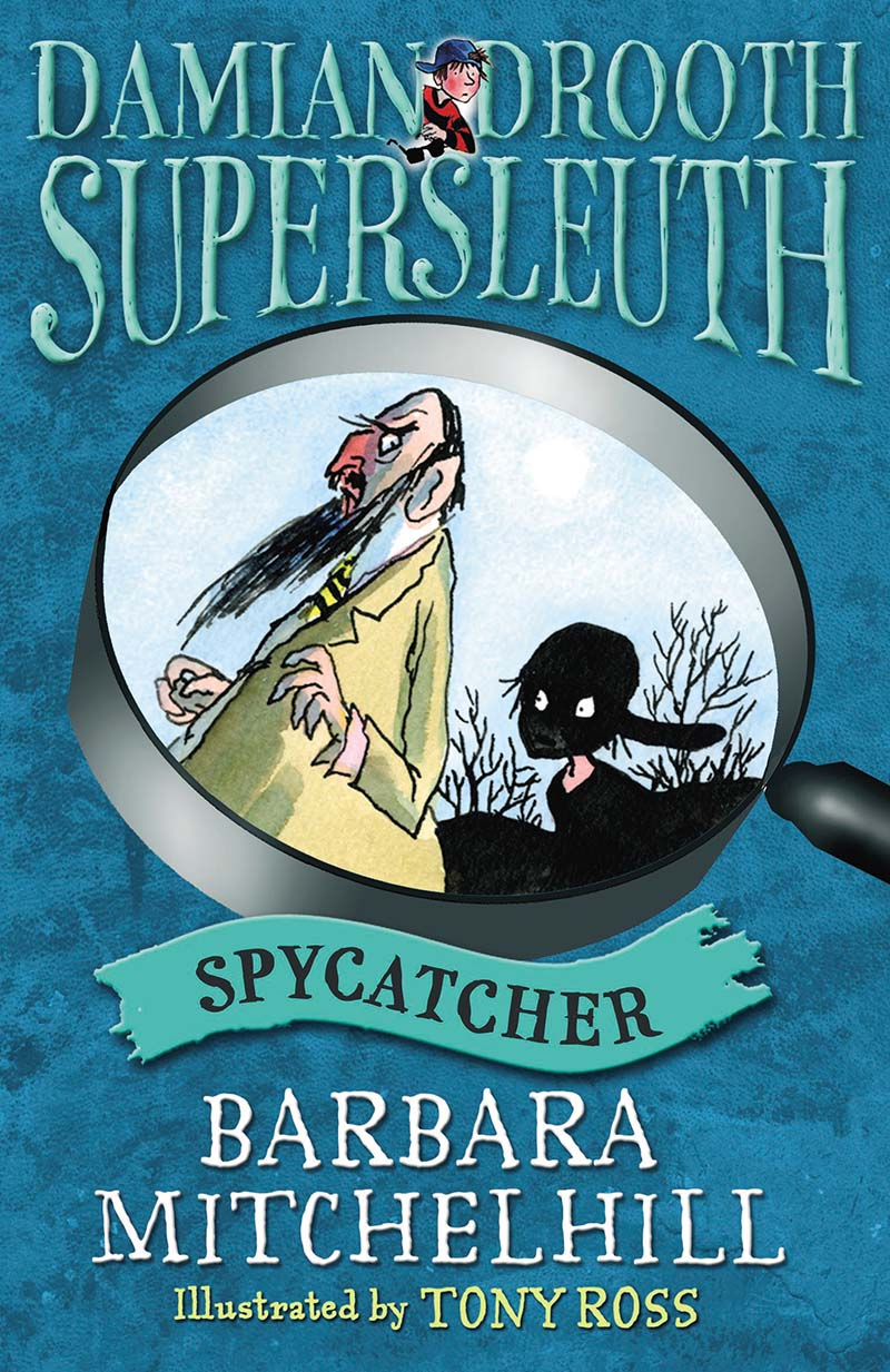 Damian Drooth, Supersleuth: Spycatcher - Jacket