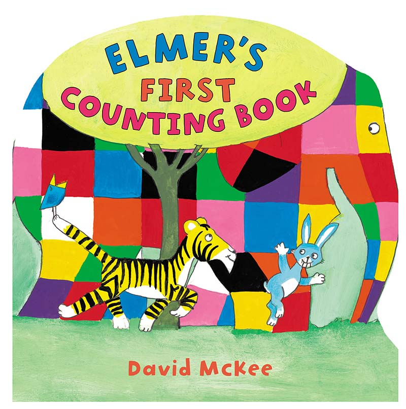 Elmer's  First Counting Book - Jacket