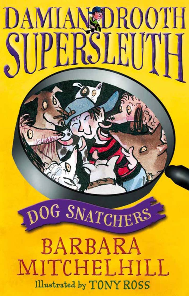 Damian Drooth, Supersleuth: Dog Snatchers - Jacket