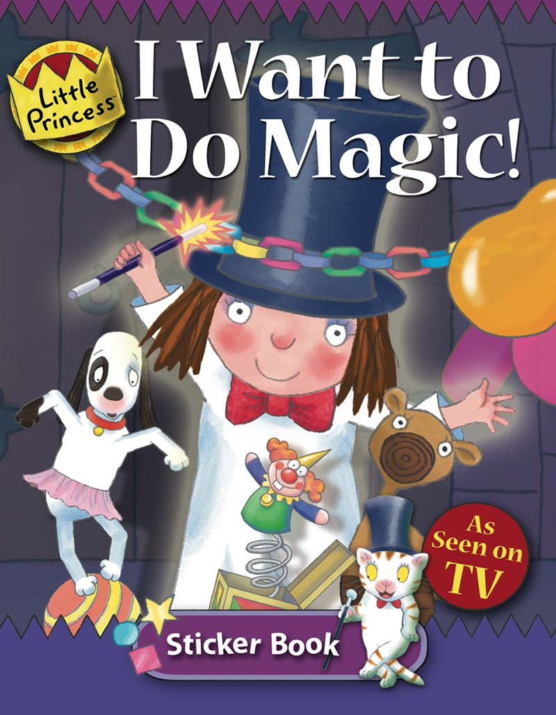 I Want to do Magic: Little Princess Sticker Book - Jacket