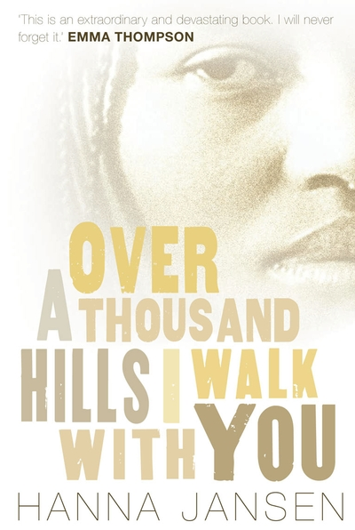 Over a Thousand Hills, I Walk with You - Jacket
