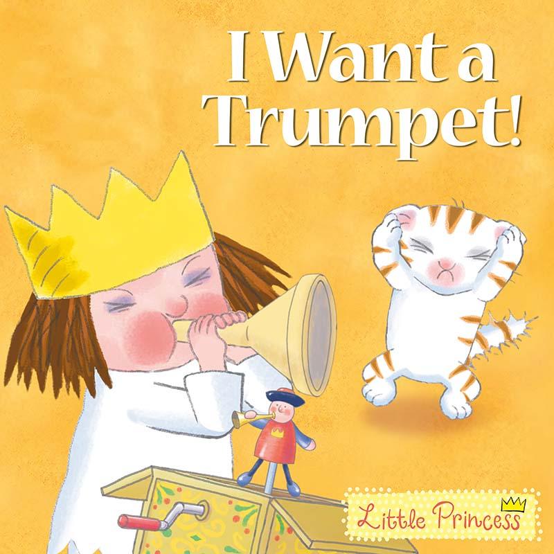 I Want a Trumpet! - Jacket