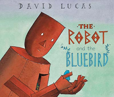The Robot and the Bluebird - Jacket