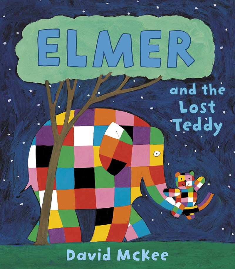 Elmer and the Lost Teddy - Jacket