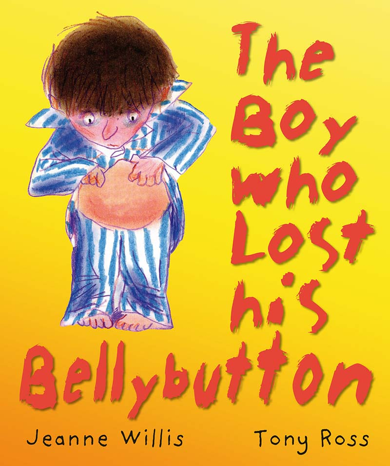 The Boy Who Lost His Bellybutton - Jacket
