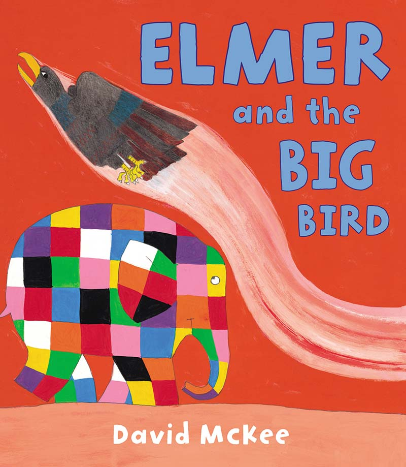 Elmer and the Big Bird - Jacket