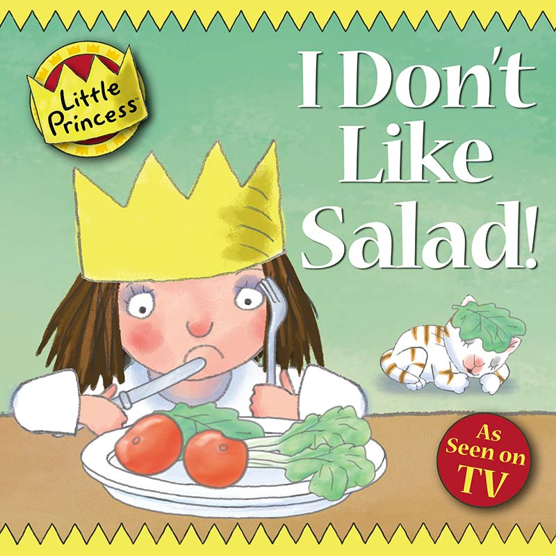 I Don't Like Salad! - Jacket