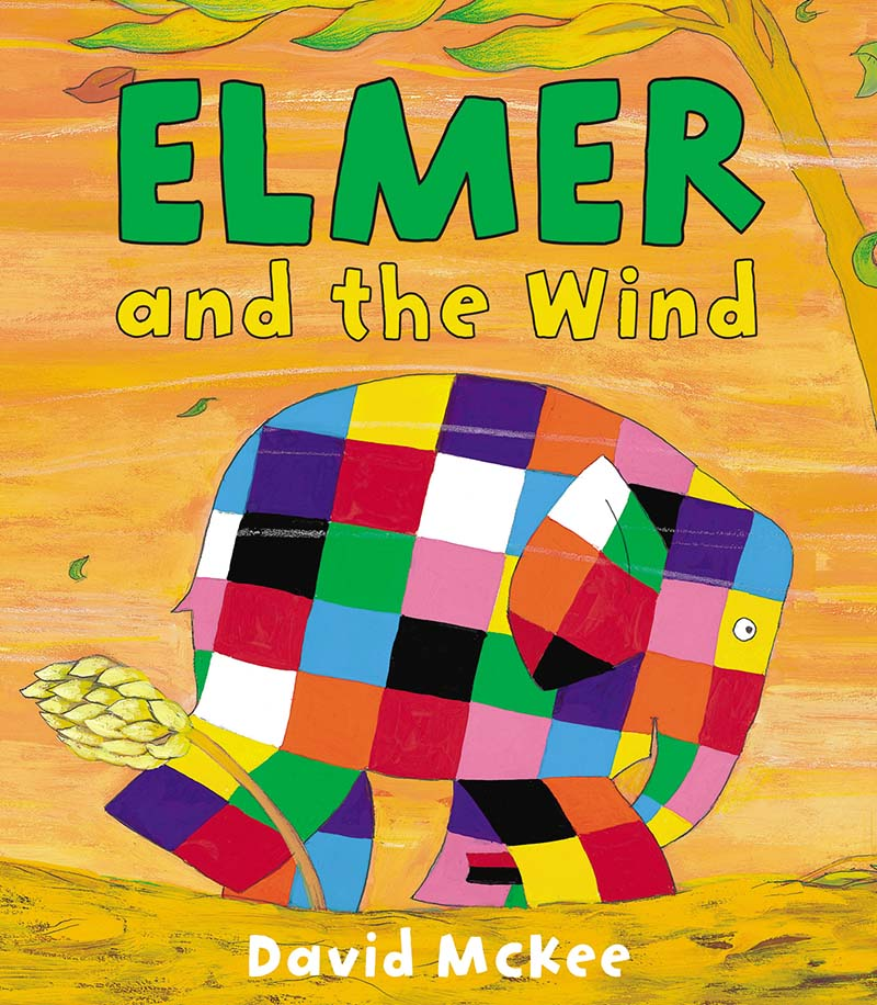 Elmer and the Wind - Jacket