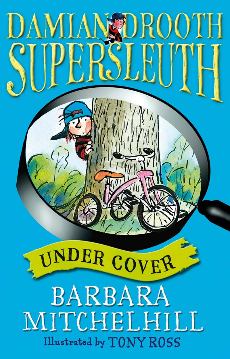 Damian Drooth, Supersleuth: Under Cover - Jacket
