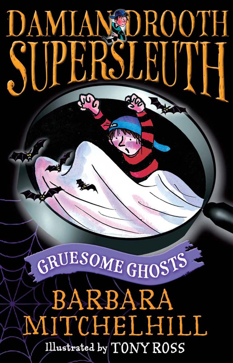 Damian Drooth, Supersleuth: Gruesome Ghosts - Jacket