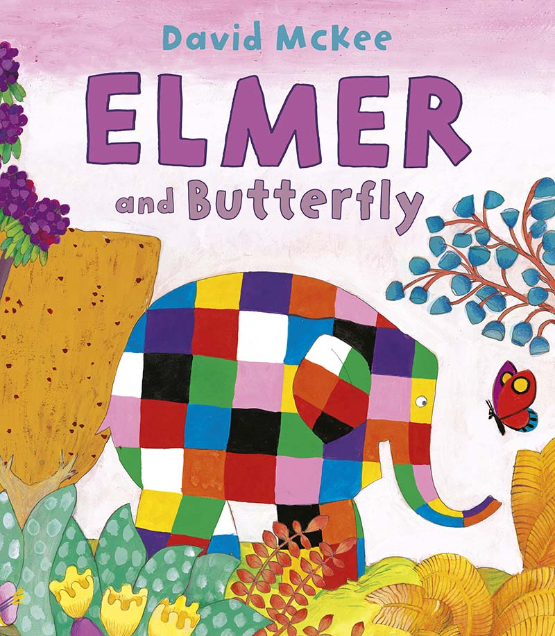 Elmer and Butterfly - Jacket