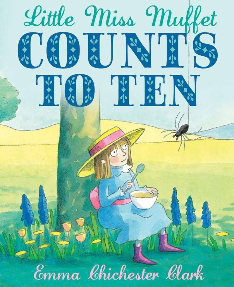 Little Miss Muffet Counts to Ten - Jacket