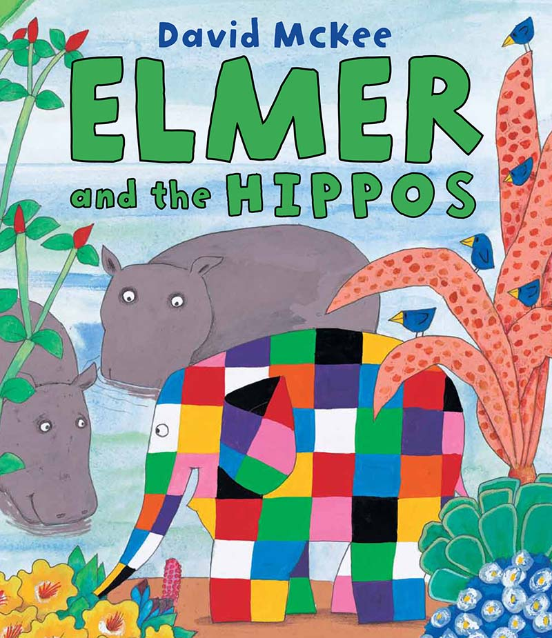 Elmer and the Hippos - Jacket