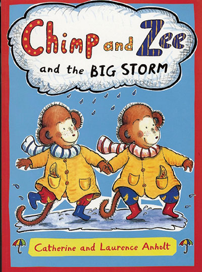 Chimp and Zee and the Big Storm - Jacket